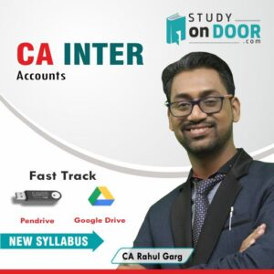 CA Intermediate Accounts Fast Track by CA Rahul Garg