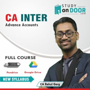 CA Intermediate Advance Accounts by CA Rahul Garg