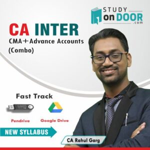 CA Intermediate Combo (CMA+Advance Accounts) Fast Track by CA Rahul Garg