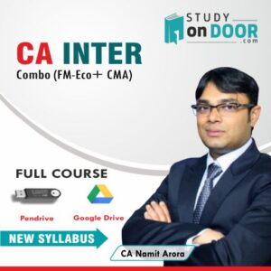 CA Intermediate Combo CMA+FM-Eco by CA Namit Arora