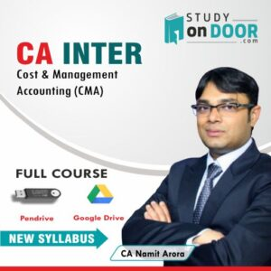 CA Intermediate Cost & Management Accounting (CMA) by CA Namit Arora