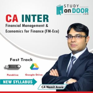 CA Intermediate FM-Eco Fast Track by CA Namit Arora