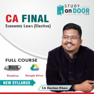CA Final Economic Laws (Elective) by CA Darshan Khare