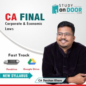 CA Final Law Fast-Track by CA Darshan Khare