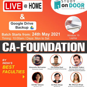 CA Foundation All Subjects by Aldine CA